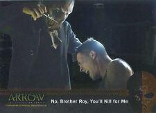 Arrow Season 2 Silver Foil Parallel Mirakuru Chase Card U4 No, Brother Roy, You?