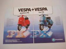 advertising Pubblicità 1983 VESPA PK e PX