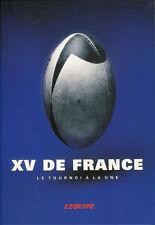 """""""L'EQUIPE - XV de FRANCE - La Tournoi a la Une"""" - RUGBY BOOK"""
