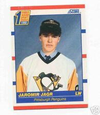 Jaromir Jagr Score Rookie Card Philadelphia Flyers Pittsburgh Penguins