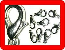 100 LOBSTER CLASPS,WHOLESALE,FINDINGS Silver,Large 18mm