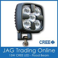 15W CREE LED DELUXE FLOOD/WORK LAMP 12V~24V - Boat/Deck/Truck/DRL Driving Light