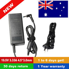 65W AC Adapter Power Charger Cord 19.5V 3.33A For HP Pavilion Laptop Blue Tip