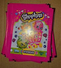 TOPPS - SHOPKINS, des courses de Folle (Stickers) - 10 POCHETTES NEUVES