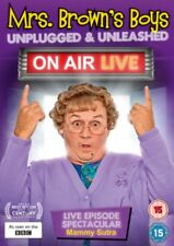 Mrs Browns Boys - Unplugged & Unleashed - On Air Live DVD NEW dvd (8309824)
