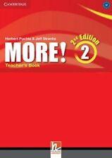 More! Level 2 Teacher's Book, Puchta, Herbert, Stranks, Jeff, Pelteret, Cheryl,
