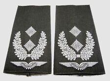 Rangabzeichen Luftwaffe Oberstleutnant weiß/oliv Bw Schulter Klappen Schlaufen