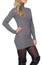 L Damen-Pullover & -Strickware mit Rollkragen ohne Muster