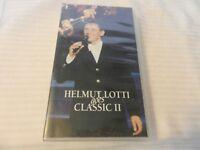 Helmut Lotti Goes Classic II VHS Tape Hard Case 1996