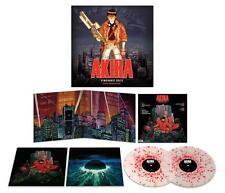 AKIRA Vinyl Red Splatter variant Soundtrack 2LP by Geinoh Yamashirogumi 150 gram