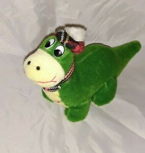 *Used small Nessie green  Soft Toy plush small Scottish Scotland*