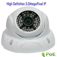 H.264 5MP 2592x1920P PoE Onvif Dome Weatherproof IP WDR Security Camera 48IR OSD