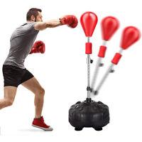 Reflex Bag Adjustable Freestanding Punching Boxing Ball Speed Training Cardio US