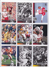 2011 UPPER DECK FOOTBALL COLLEGIATE CARDS ** $.99 SHIPPING