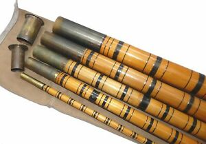Sowerbutts Maker, Walthamstow, London 20' 5 piece bamboo Thames roach pole, s...