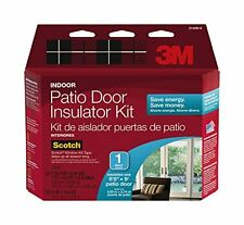 3M Indoor Patio Door Insulator Kit, 1-Patio Door , New, Free Shipping