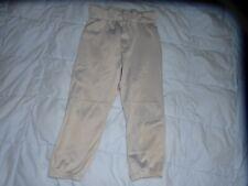 Wilson YOuth Medium Gray Grey Baseball T-Ball Softball Pants