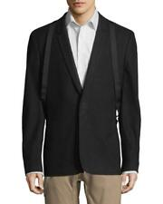 NWT Helmut Lang Brushed Cotton Suiting Suspender Blazer Jacket Bondage Sz 46
