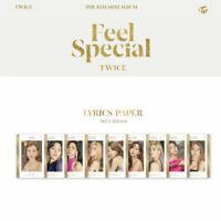 TWICE Feel Special 8th Mini Album [Lyrics Paper]