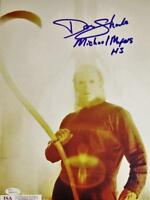 DON SHANKS SIGNED 11X14 PHOTO MICHAEL MYERS HALLOWEEN 5 JSA COA 13