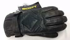 Scott Signature Leather Ski & Snowboard Gloves, waterproof - Women's large