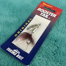 Worden's Original ROOSTER TAIL, 206 RED,  1/16 OZ., 1.7 gm,YAKIMA BAIT