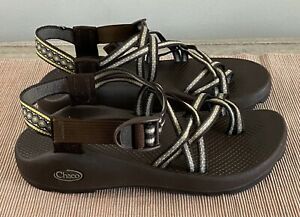 Chaco Women's Brown / Grey Sandals Shoes size 8 W8