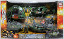Military & Adventure Action Figure Playsets