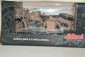BMW R 75 Afrika Korps 1:10 von Schuco>>Neu in OVP<<