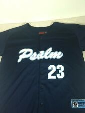 St44 Psalm 23 Button Down Sports Jersey Medium M