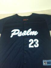 St44 Psalm 23 Button Down Sports Jersey Medium M