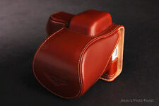 Handmade Genuine real Leather Full Camera Case Camera bag cover for Sony NEX5N B