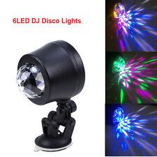 Universal Car 6LED Interior Light DJ Disco Stage Lighting Flash Decoration Lamp