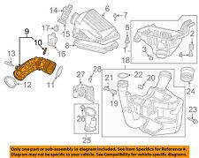 HONDA OEM 03-07 Accord Air Cleaner Intake-Duct Hose Tube 17228RADL60
