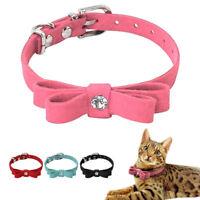 Collares de adiestramiento para perro pequeños suave Mascota Gato DOG Rosa Azul