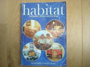 HABITAT CATALOGUE 1979/80 - VINTAGE / RETRO / CONRAN