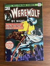 Werewolf by Night 33 2nd appearance of Moon Knight