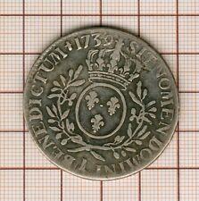 Louis XV écu aux lauriers  1739 I Limoges