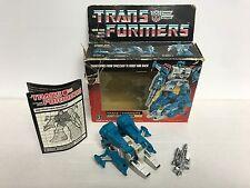 TOPSPIN Jumpstarter 1984 Hasbro TRANSFORMERS #5932 G1