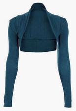 Langarm Damenblusen, - tops & -shirts im Bolero-Normalgröße