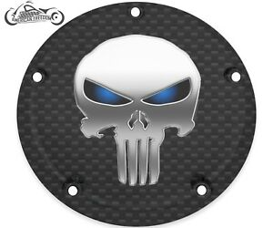 HARLEY DAVIDSON NARROW PROFILE DERBY COVER 2016-2021 TOURING ONLY PUNISHER