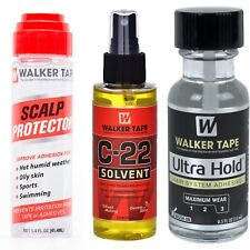 Walker Tape Kit Pulizia Protesi Capelli (colla+remover+scalp protector)