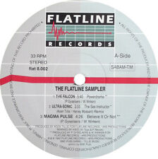 Various – The Flatline Sampler ** Oldskool - Vinyl - Hardcore - Jungle - Rave **