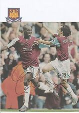 YOSSI BENAYOUN & CARLTON COLE WEST HAM UTD ORIGINAL SIGNED MAGAZINE CUTTING