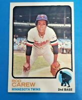 1973 Topps Set Break #330 Rod Carew VG+ Twins