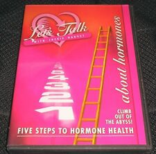 Let's Talk With Jackie Harvey Five Steps to Hormone Health DVD CD Set Menopause
