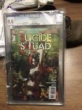 Suicide Squad #1   (New 52)  CGC 9.8  White Pages