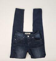 "ITZ ME Black Label Vintage Collection Womens Skinny Jeans Sz 3 Waist 27"""