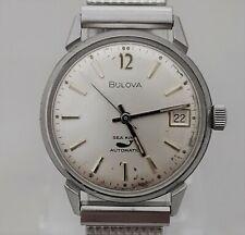 Vintage 1960 Bulova Automatic SEA KING Mens Watch
