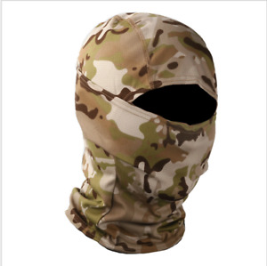 Camo Hunting Balaclava Hood Military Tactical Helmet Liner Gear Full Face Mask